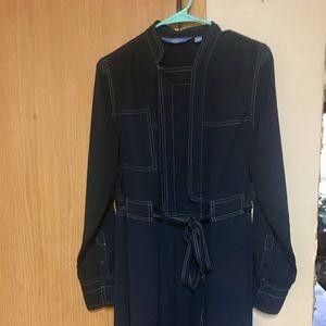 Simply Vera Sheer Sleeve Tunic